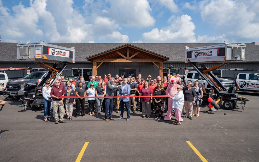 Kingdom Roofing Systems to Hold Ribbon-Cutting for Marion, IN Headquarters